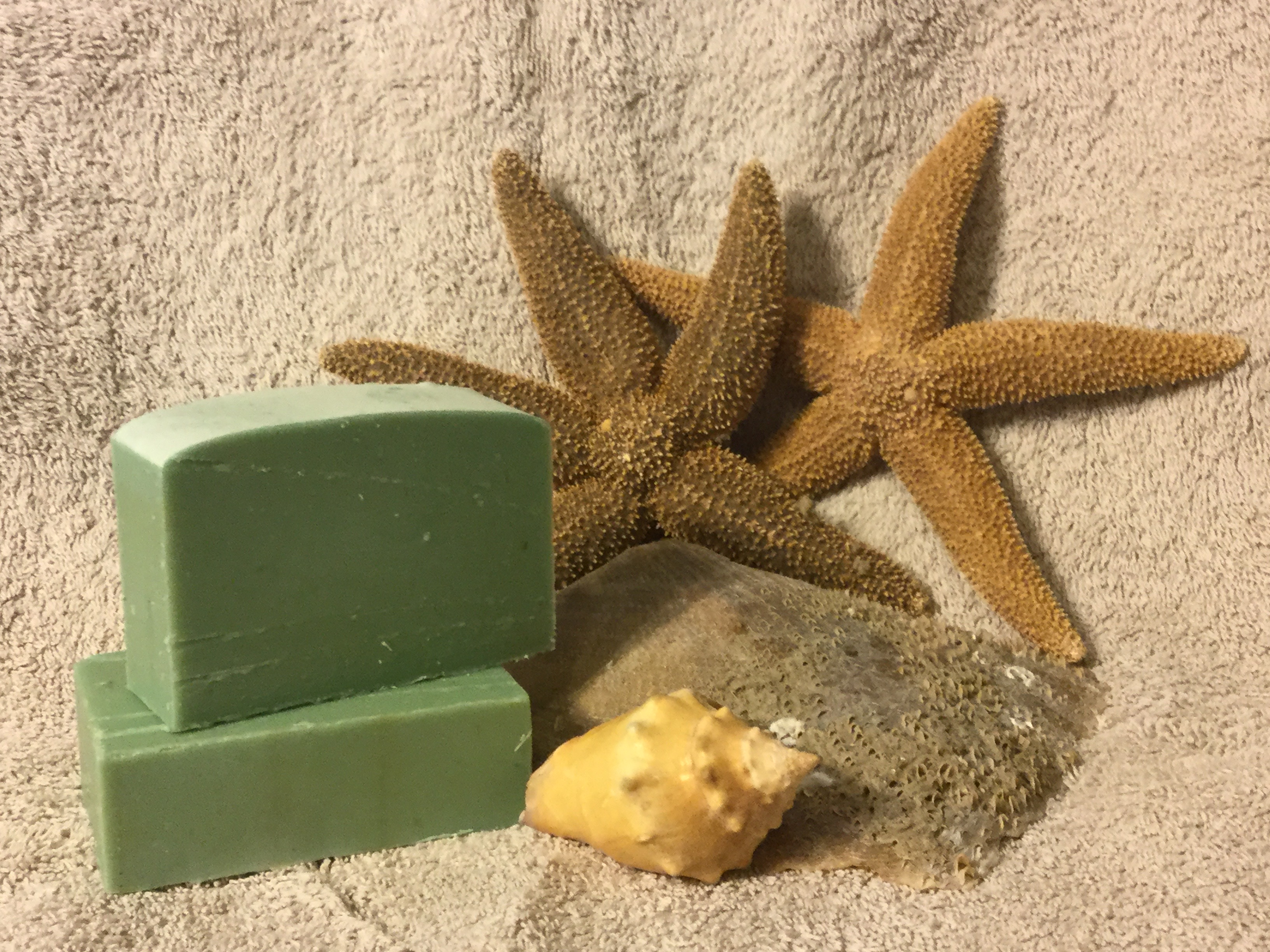 August Soap of the Month - Sea Oats