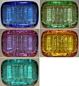 Art Glass Soap Dish