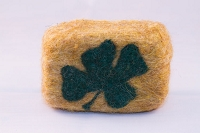 Woolly Bullies - Felted Goat Milk Soap - St. Patrick's Day