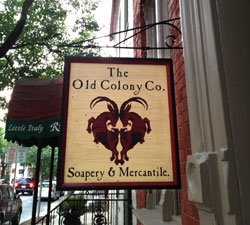 Old Colony Company Store Sign